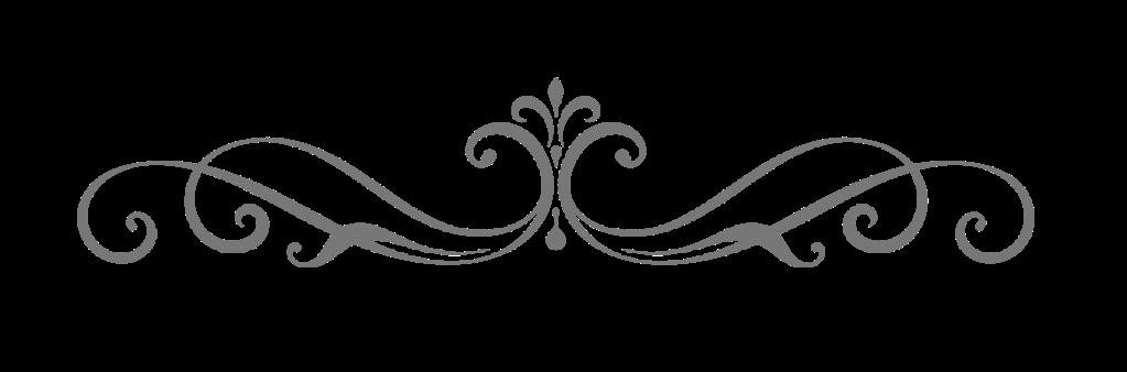 Elegant divider scroll